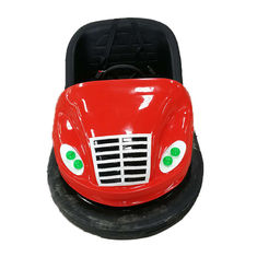 China Ground Net Amusement Bumper Cars , Spinning Bumper Cars Soft Back factory