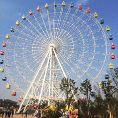 China Theme Park Ferris Wheel Ride 380V 50Hz Air - Conditioned Cabin factory