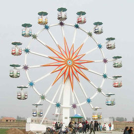 China Antique Ferris Wheel Rated Load 72 Riders  Height 30m Luxury Design factory