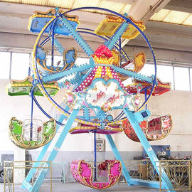 China High Performance Fairground Ferris Wheel / Indoor Ferris Wheel With 5 Cabin factory