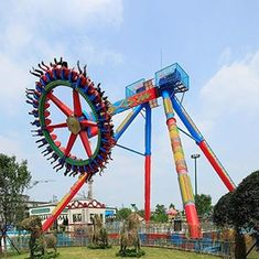 China Thirlling Giant Frisbee Ride , Huss Giant Frisbee CE ISO Certification factory