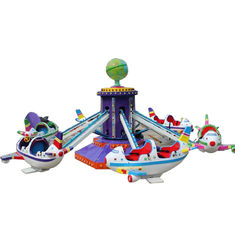 China Self Controlled Amusement Park Airplane Ride CE ISO Certification factory