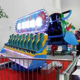 China 3-3.3m Commercial Kids Amusement Ride , Double Side Crazy Wave Ride factory