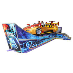 China Theme Park Thrill Rides Flying Car Rated Load 10 Riders Movable Type factory