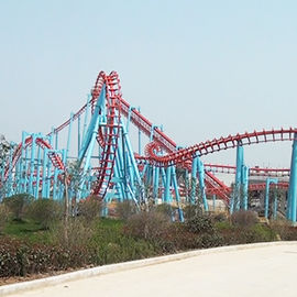 China Suspended Roller Coaster Ride 780m Track Rated Load 20 Riders Height 33m factory