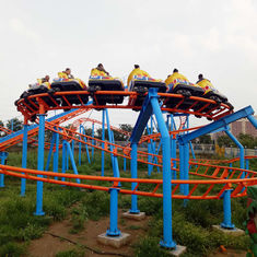 China 290m Amusement Park Roller Coaster / Family Childrens Roller Coaster factory
