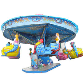 3.7m Kids Amusement Ride / Fun Park Rides Ocean Walk Ride Power 4.5KW