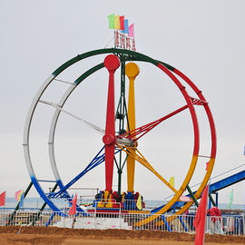 360 Degree Ferris Wheel Ride  Rated Load 12 Riders 380v Voltage