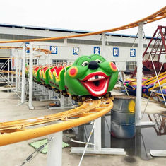 China Mini Roller Coaster Ride 380V Voltage Track Length 120m Power 6KW factory