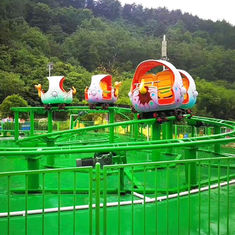 China 360 Degree Amusement Park Roller Coaster , Dinosaur Roller Coaster factory