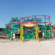 China Spinning Coaster Ride 320m Track Rated Load 20 Riders Customized Service factory