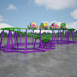 China Indoor Theme Park Roller Coaster Track Length 52m Automatic Control factory