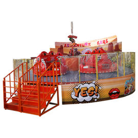 7kw Power Amazing Amusement Park Rides Crazy Car Ride With 1.5m/S Speed