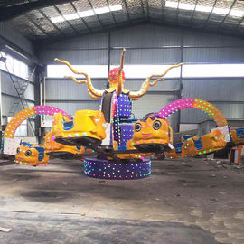 40 Riders Amusement Theme Park Rides Octopus Rides 21kw Power 5m Height