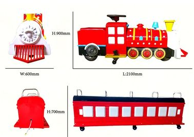 China Amusement Mini Trackless Tourist Train Rides For Indoor Children'S Play factory