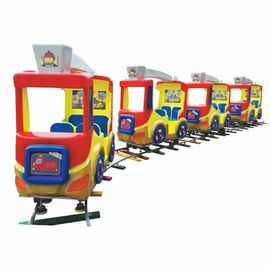 China high quality amusement track train children indoor track train playground for sale factory