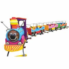China Hot Sale Chinese Factory  Amusement Park Fun Rides Kids Electric Mini Track Train factory