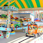 Kids Park Rides Mini Shuttle Ride Fiberglass Steel Material Height 1.95m supplier