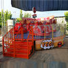 7kw Power Amazing Amusement Park Rides Crazy Car Ride With 1.5m/S Speed supplier