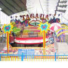Crazy Disco Amusement Park Equipment 20 - 40 Riders With 380v Voltage supplier